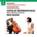 Dvorák: Cello Concerto - Tchaikovsky: Variations on a Rococo theme/Mstislav Rostropovich