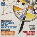"""Mussorgsky: Pictures at an Exhibition - Prokofiev: Symphony No. 1, """"Classical""""/Philippe Jordan"""